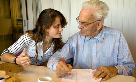 Individuele begeleiding in de Ouderenzorg