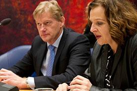 Minister Schippers en staatssecretaris Van Rijn
